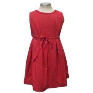 Jacadi Paris Girls Dress Size 6 Red